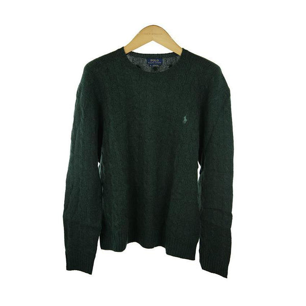 Ralph Lauren polo Forest Green long-sleeve jumper XXL RRP165 COP20