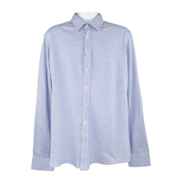 Hackett light blue long sleeve shirt XL RRP 130 D196