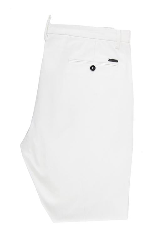 Dsquared white chino trousers size 52 RRP195 DAR246