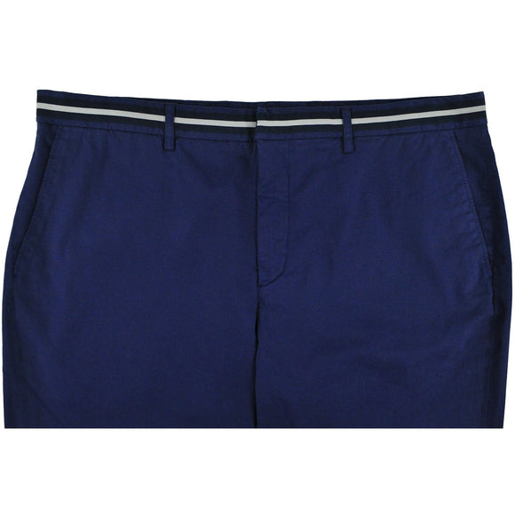 Hackett Sea blue classic fancy waistband shorts 38 RRP115 D232