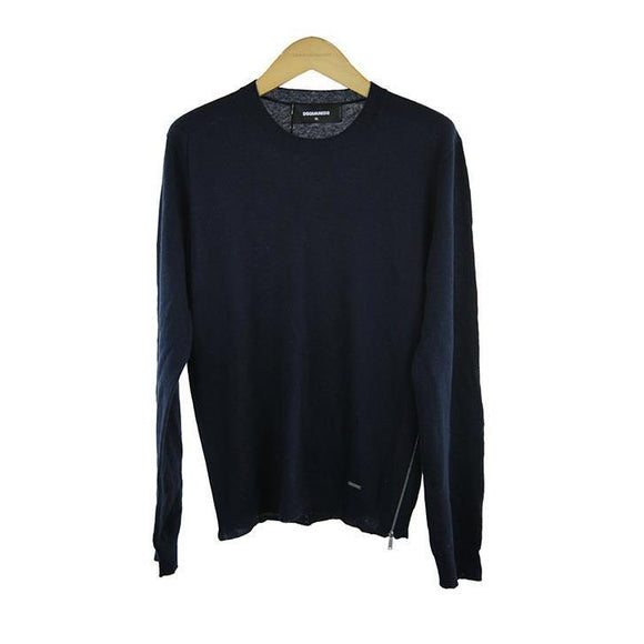 Dsquared long-sleeve Navy jumper size XL RRP400 D205