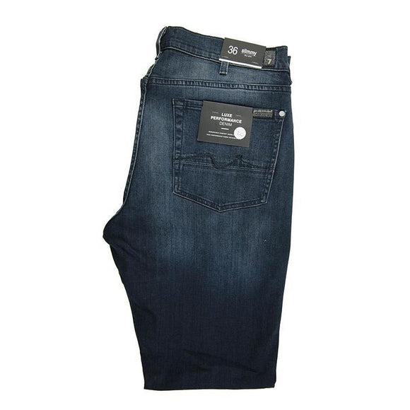 7 For All Mankind dark blue denim jeans W30 RRP190 D208