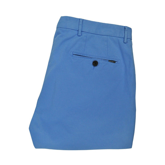 Hackett bright blue chinos slim fit size 34R RRP105 DAR235