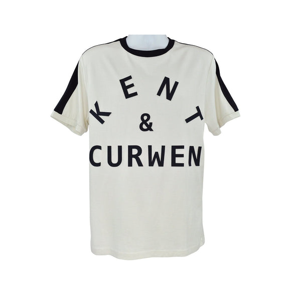 Kent and Curwen cream short sleeve t shirt size XXL RRP75 DAR237