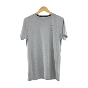 Hackett classic fit grey short-sleeve t-shirt size S RRP 90 DF183