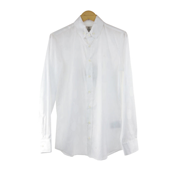 Vivienne Westwood white long sleeve shirt size XS RRP 295 DF185
