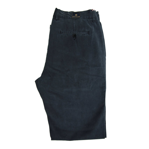 wild Cotton dark blue Chino trousers size 34 RRP 79