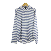 Tommy Hilfiger blue Falko striped long sleeve shirt size XL RRP90 DV8