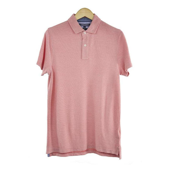 Tommy Hilfiger pink Polo short sleeve top size M RRP75 DV11