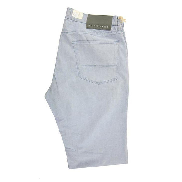 Cerruti Light blue Chino trousers size W32 RRP110 D20