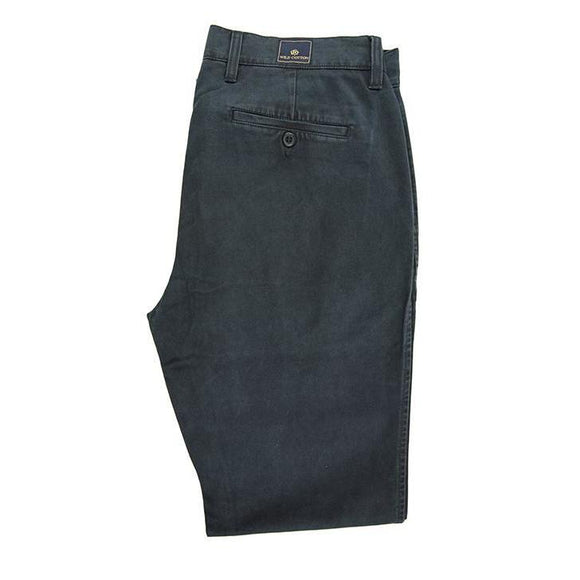 Wild cotton navy blue chinos size W34 RRP85 D25
