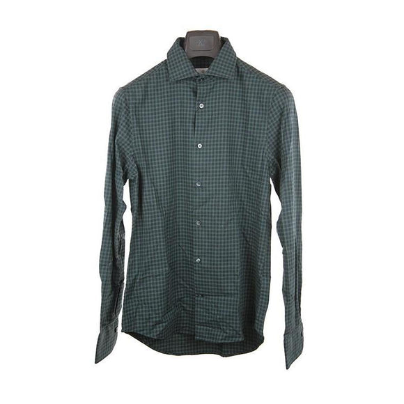 Gant Dark green check long sleeve shirt M RRP105 DV33