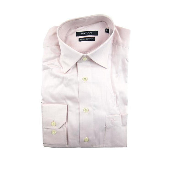 Hatico Pink long sleeve shirt size 38 RRP80 G17