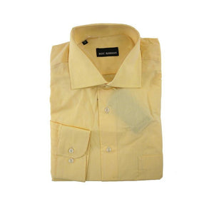 Roy Robson yellow long sleeve shirt size 41 RRP60 G05