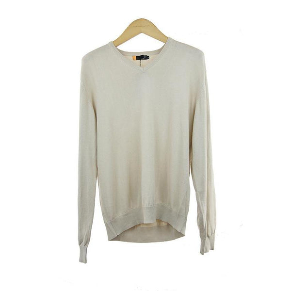 Torre beige long-sleeve jumper size XL RRP 60 G08