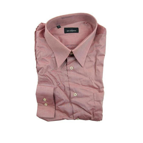 Roy Robson dusty pink long sleeve shirt size 44 RRP70 GA09