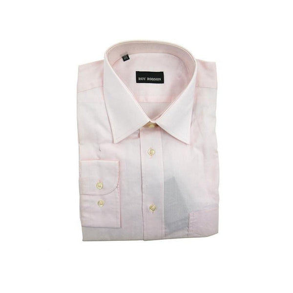 Roy Robson light pink long sleeve shirt size 38 RRP80 G15