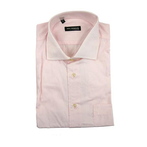 Roy Robson pale pink long sleeve shirt size 43 RRP80 G15