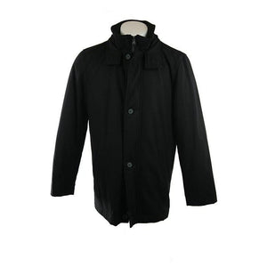 Canson Of Denmark black coat size 48 RRP250