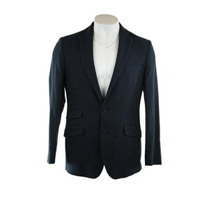 Gabucci Milan JF navy blue textured jacket UK42r RRP250