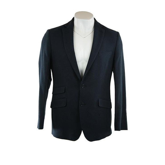 Gabucci Milan JF navy blue textured jacket UK 40r RRP250