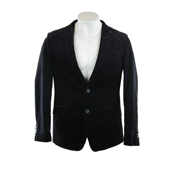 Stones dark navy Elba beach modern fit jacket size 50 RRP250