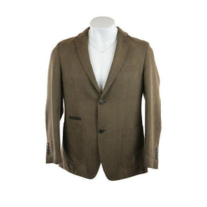 Philipp Tessile Dí?Oro tan jacket size 50 RRP230