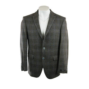 Digel preference Brown check jacket size UK40R RRP300