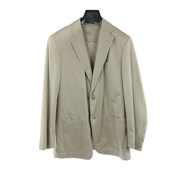 Stones casual light beige jacket size 50 RRP200 GA01