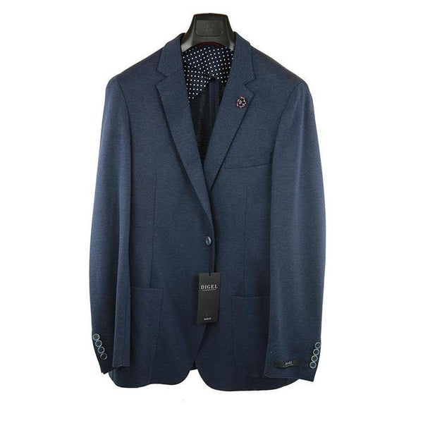 Digel dark blue jacket size 44R RRP270 GA01