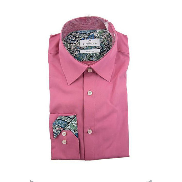 Einhorn deep pink long sleeve shirt size 38 RRP80 GA20
