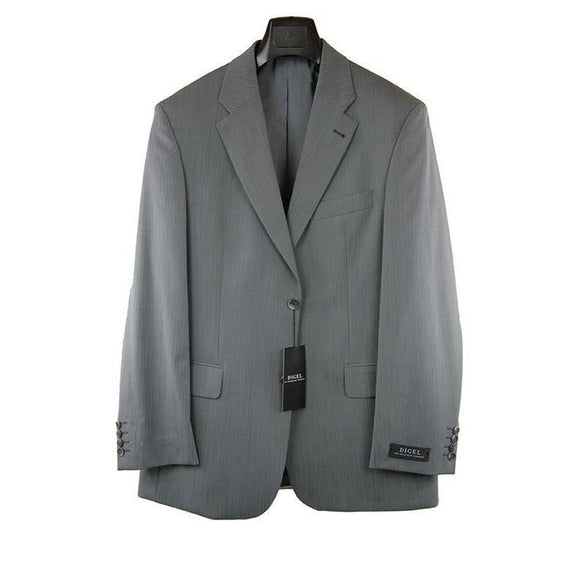 Digel Light grey suit 38R RRP400 GA04