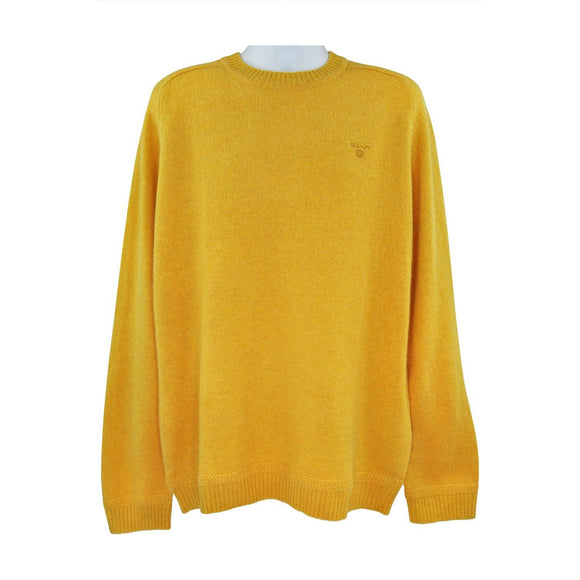 Gant yellow long sleeve jumper XXL RRP110 HED2