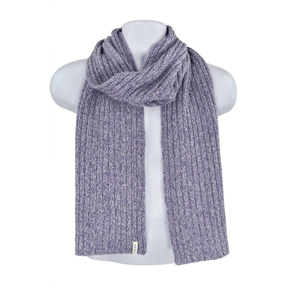 Gant light purple knit scarf one size RRP50 HED2