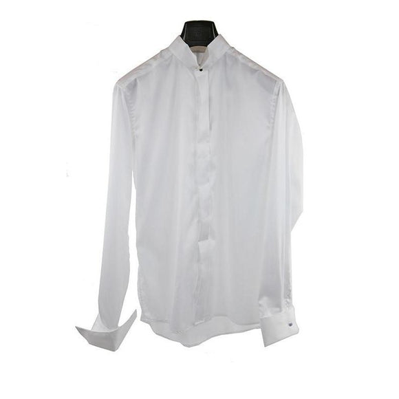 Eton White long-sleeve dress shirt size 41 RRP150 PO35