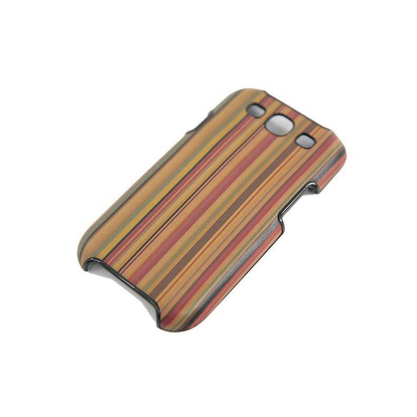 Paul Smith mens Galaxy 3 phone case multi stripe RRP60 PO35