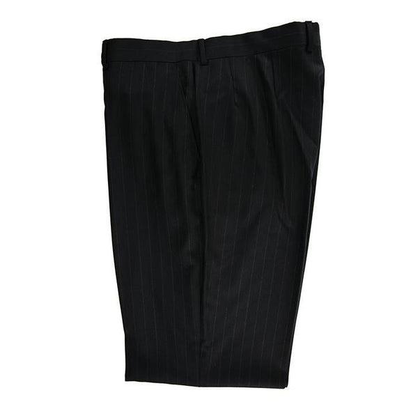 Pockets branded angelico black pinstripe trouser size 36 RRP80 POR