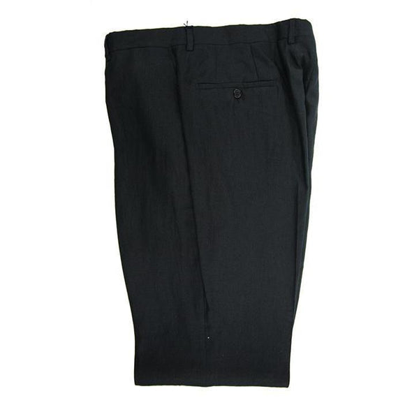 Pocket branded Solbiati dark navy linen trousers 38R RRP80 PRA