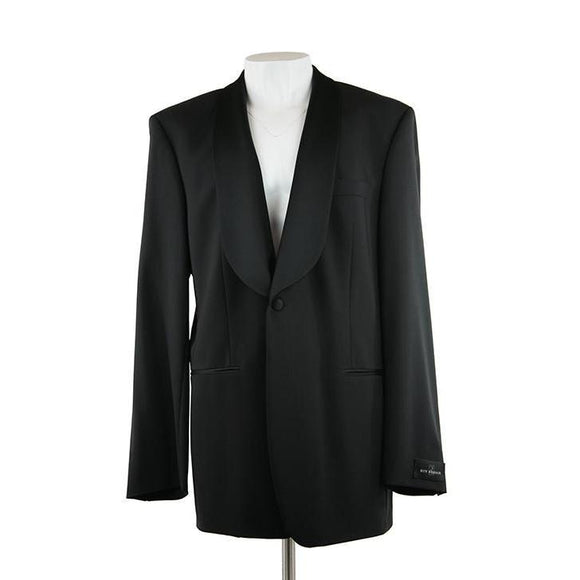 Roy Robson Black long Dress Jacket size 46 RRP290 PRA