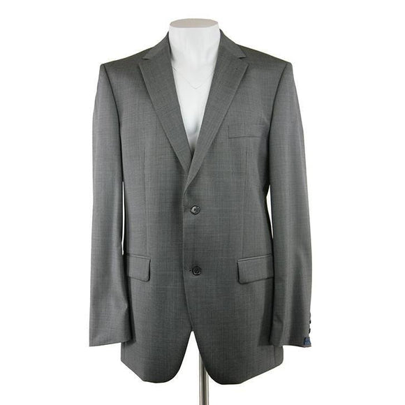 Pockets Branded grey suit fine dogtooth check size 44 RRP390 PRA