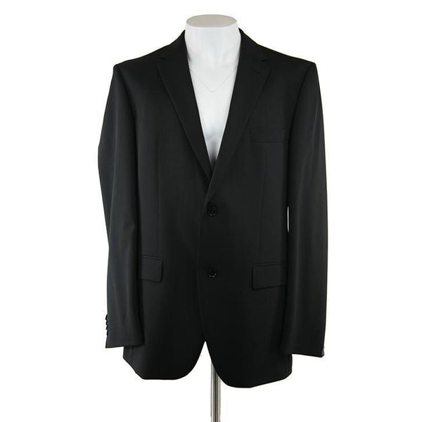 Pockets branded black suit size 44 long RRP400 PRA