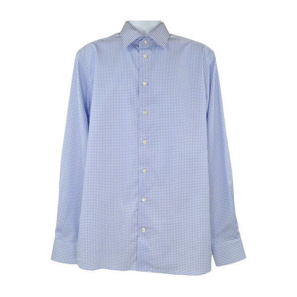 Eton Light blue long sleeve shirt size 44 RRP145 PO31