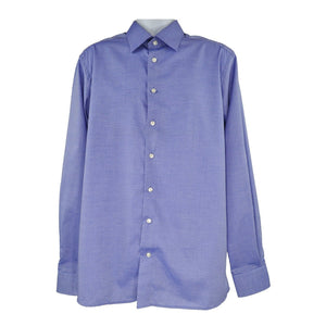 Eton Mid blue long sleeve shirt size 44 RRP135 PO31