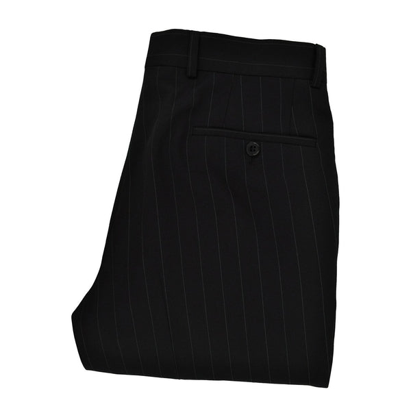 Roy Robson black pinstripe suit trousers size 48 RRP110 POR