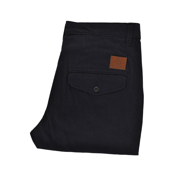 Luke Navy heavyweight trousers size 32 RRP110 POR