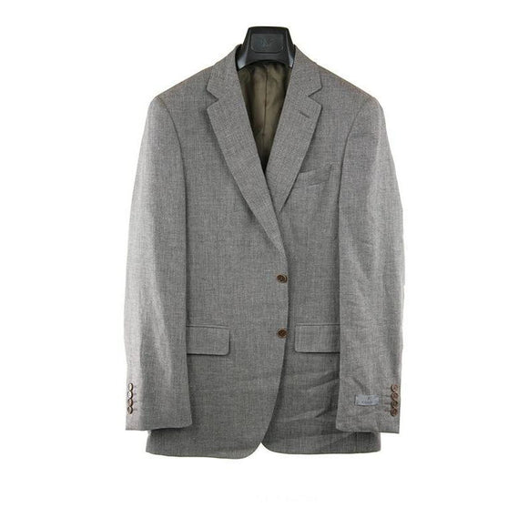 Canali light brown textured suit jacket size 50R RRP800 POR1