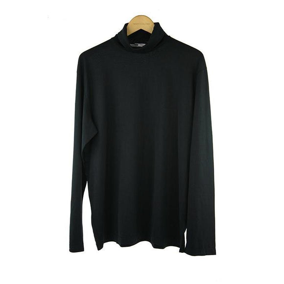 Circolo Black long-sleeve roll neck size L  RRP 90 P110