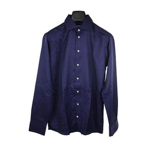 Eton Dark purple long sleeve shirt size 39 RRP140
