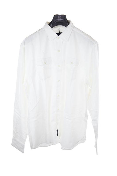 Edmmond Studios white long sleeve shirt XXL RRP100