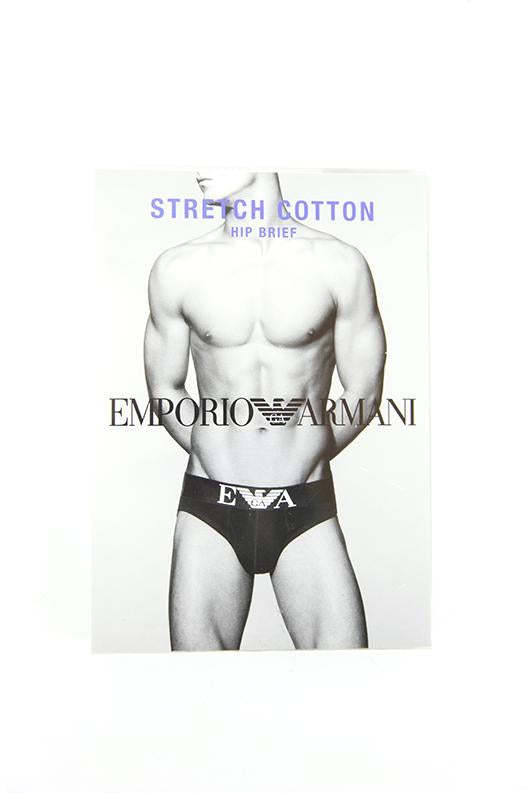 Emporio Armani white brief stretch cotton size M RRP25 PU214